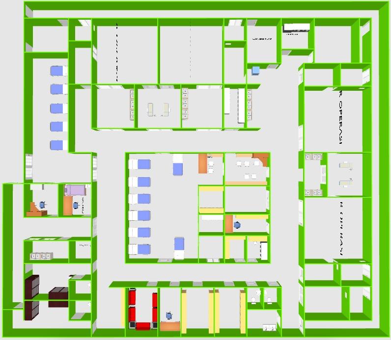 Desain Instalasi Bedah Pusat Terpadu Rs Kelas C Dr Galih Endradita M