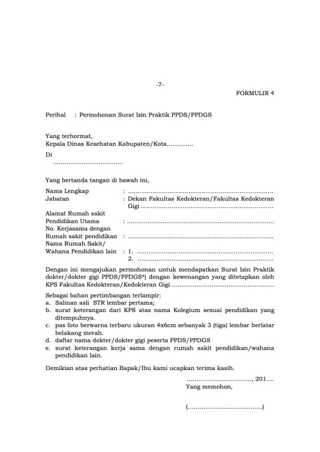 Pertanyaan Seputar Surat Ijin Praktik Dokter Sip Di Indonesia